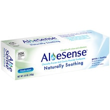 AloeSense Naturally Soothing Fluoride Toothpaste Fresh Mint