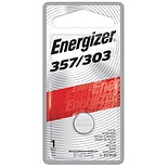 Energizer Watch/Electronic Silver Oxide Battery 357/303