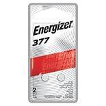 Energizer Watch/Electronic Silver Oxide Batteries Size 377