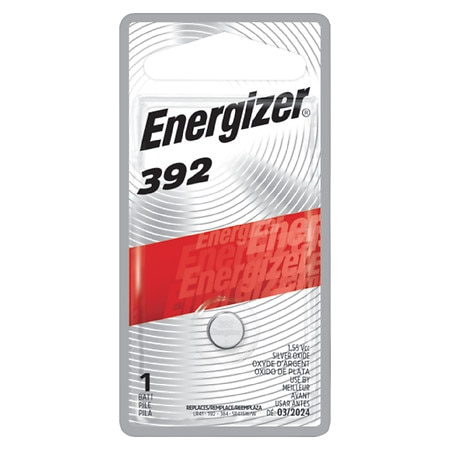 Energizer Mercury Free Watch Electronic Battery #392