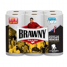 Brawny Paper Towels, Pick a Size White