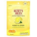 Burt's Bees Natural Throat Drops Honey & Lemon