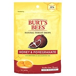 Burt's Bees Natural Throat Drops Honey & Pomegranate