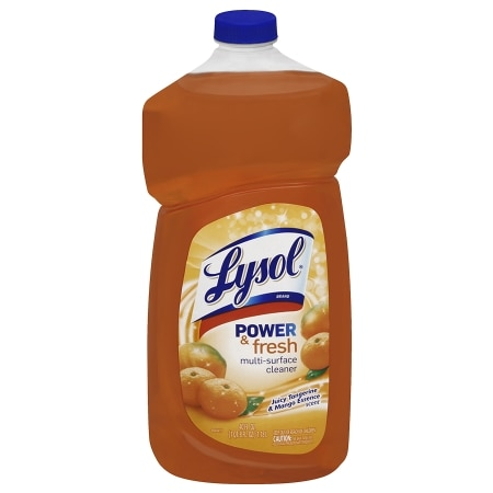 Lysol Power & Fresh Multi-Surface Cleaner Juicy Tangerine & Mango Essence