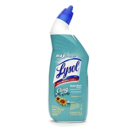 Lysol Cling Gel Toilet Bowl Cleaner Country