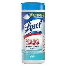 Lysol Disinfecting Wipes Ocean Fresh