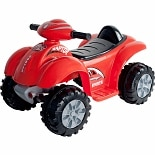 Lil' Rider Battery Powered Raptor 4 Wheeler Ages 2-4 Red