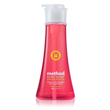 method dish soap pump limited edition fresh currant