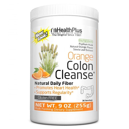 Health Plus Colon Cleanse Orange Stevia Health Fitness Skin Care Beauty Supply Deals