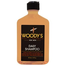 Woody's Daily Shampoo for Men, Normal to Oily Hair & Scalp