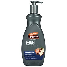 Palmer's Cocoa Butter Formula Men's Body & Face Lotion with Pump