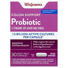 Probiotic Colon Support Dietary Supplement Capsules