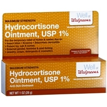 Walgreens Hydrocortisone 1% Anti-Itch Ointment Maximum Strength