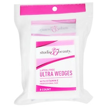 Studio 35 Beauty Ultra Cosmetic Wedges White