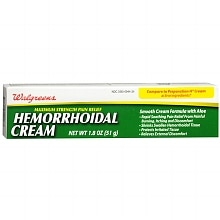 Walgreens Hemorrhoidal Pain Relief Cream Maximum Strength