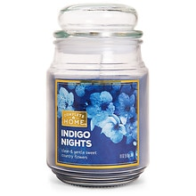 Indigo Nights Jar Candle, Indigo Nights