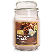 Patriot Candles Jar Candle Cinnamon Vanilla Tan