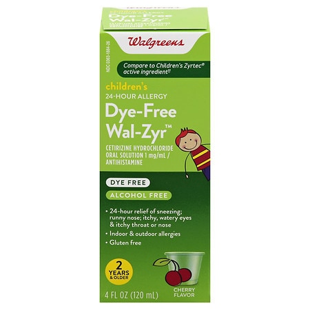 Walgreens Children's Wal-Zyr All Day Allergy Liquid Cherry
