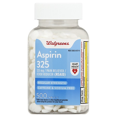 Walgreens Aspirin, 325mg, Tablets