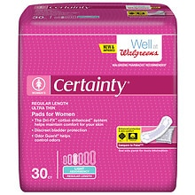 Certainty Women Bladder Protection Pads, Light Absorbency