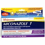 Walgreens Miconazole 1 Vaginal Antifungal Combination Pack