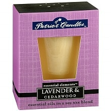 Patriot Candles Essential Elements Soy Candle Lavender and Cedarwood