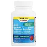 Walgreens Stool Softener Plus Laxative Tablets