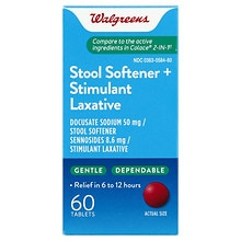 Walgreens Easy-Lax Plus Tablets