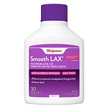 Walgreens SmoothLax Laxative Powder for Solution 30 Day