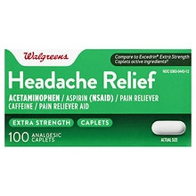 Extra Strength Headache Relief Analgesic Caplets