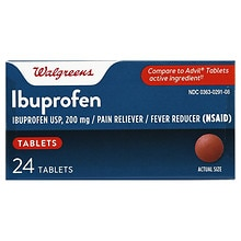 Walgreens Ibuprofen 200 mg Tablets