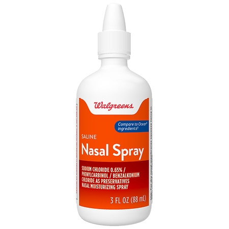Walgreens Saline Nasal Spray