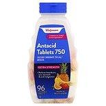Walgreens Antacid Tablets Extra Strength Tropical Fruit