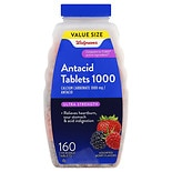 Walgreens Ultra Strength Antacid/Calcium Supplement Chewable Tablets Assorted Berry