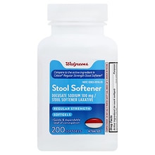Stool Softener Softgels, Softgels