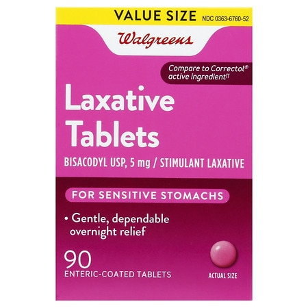 Walgreens Woman's Laxative Tablets