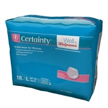 Certainty Women's Underwear Large
