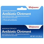 Walgreens First Aid Antibiotic Ointment Maximum Strength