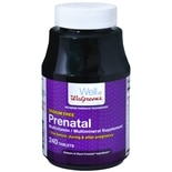 Walgreens Prenatal Multivitamin/Multimineral Supplement Tablets