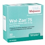 Walgreens Wal-Zan 75 Acid Reducer Tablets