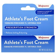 Walgreens Athlete's Foot Antifungal Cream Full Prescription Strength