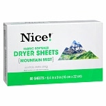 Walgreens Fabric Softner Sheets Mountain Mist