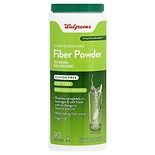Walgreens Fiber Supplement Powder Clear