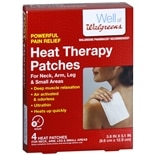 Walgreens Heat Therapy PatchesNeck/Arm/Leg