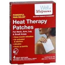 Walgreens Heat Therapy Patches Neck/Arm/Leg
