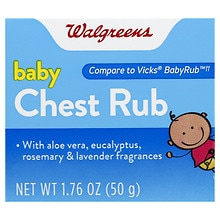 Baby Chest Rub Soothing Ointment