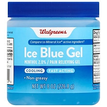Walgreens Ice Blue Gel
