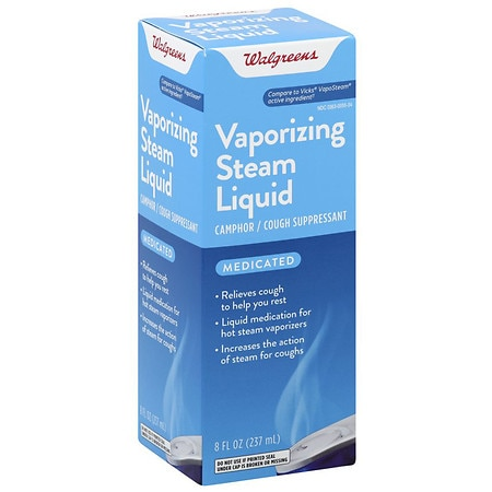 Walgreens Medicated Vaporizing Steam Liquid