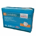 Walgreens Certainty Adjustable Underwear Small Medium