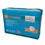 Walgreens Certainty Adjustable Underwear Maximum Absorbency, Large